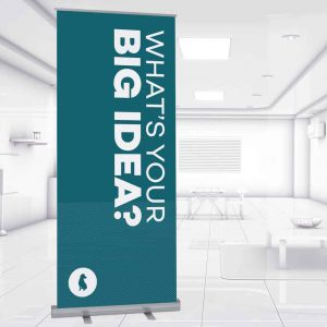 Yellowdog retractable banner stand