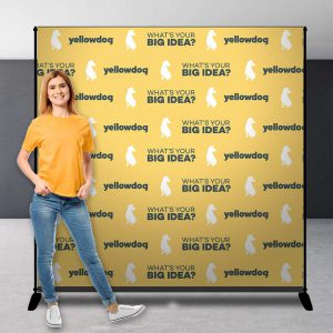 Yellowdog Step and repeat banners backdrop