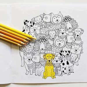 Coloring Book Page 1