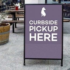 Updated signage