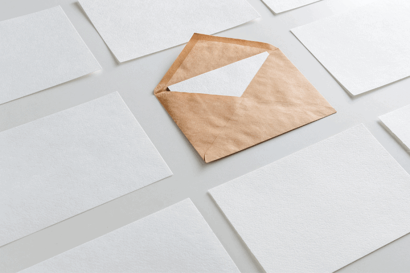 print marketing envelope