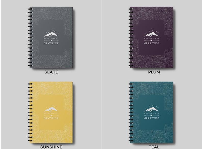 Mountains of Gratitude Journal