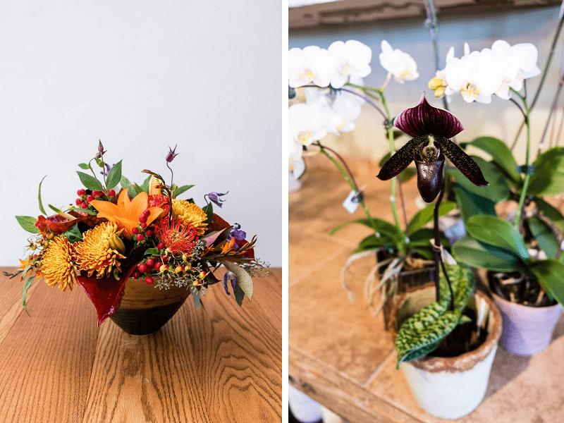 Happy Canyon flower arrangements