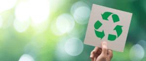 blog heading recycle signage