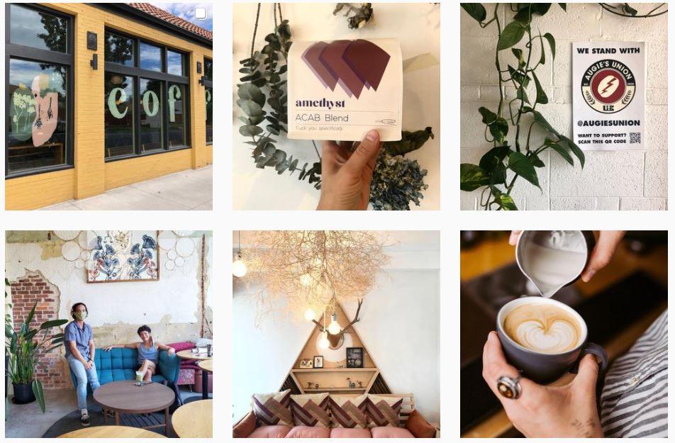 Amethyst Coffee women-owned business