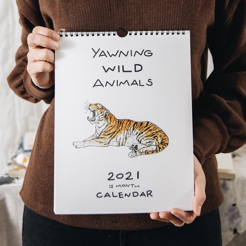 Mallory McCamy Yawning Animals