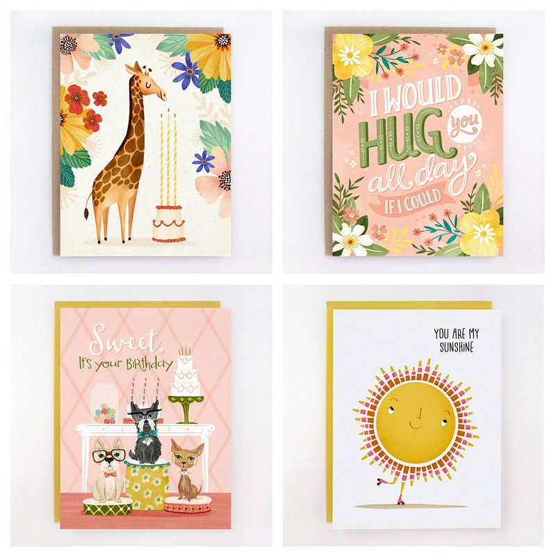 greeting cards Anita Ashfield-Salter of Monkey Mind Design