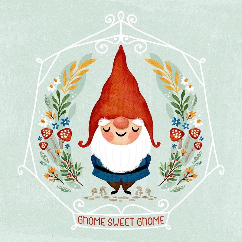 Anita Ashfield-Salter gnome sweet gnome