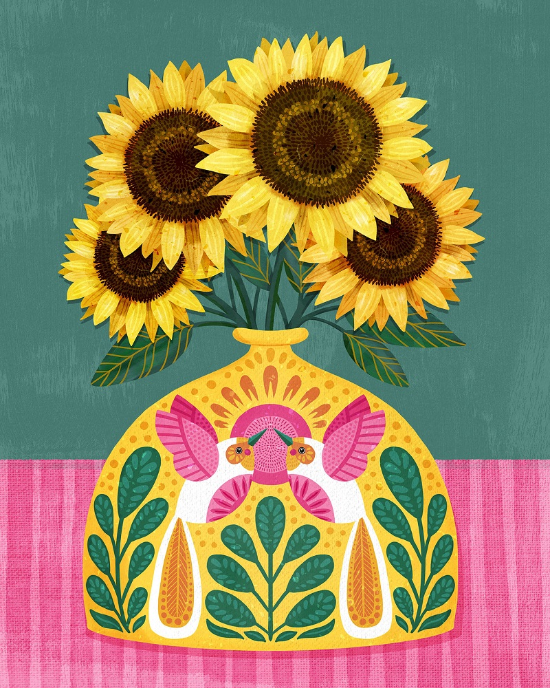 Anita Ashfield-Salter sunflowers