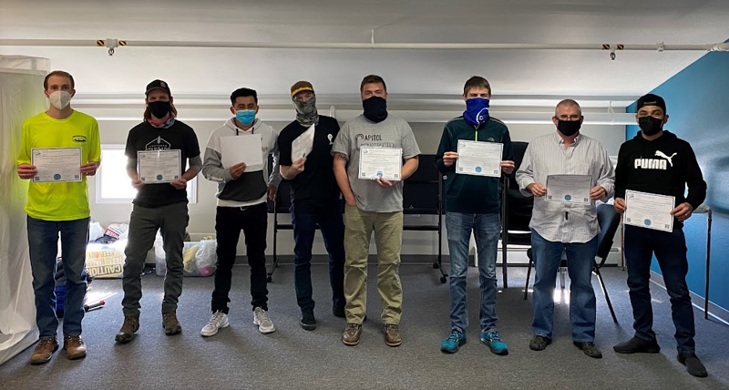 CHC Training certificates