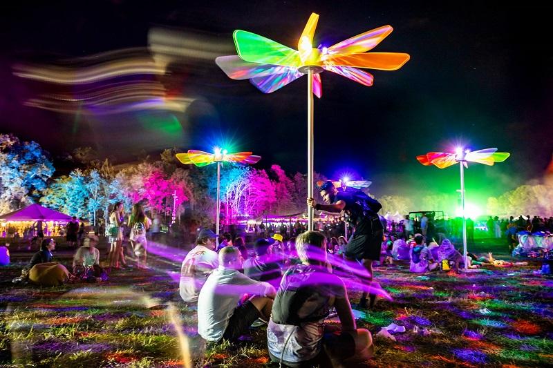 Adam Raiola firefly festival